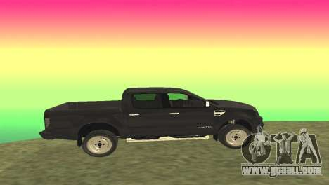Ford Ranger Limited 2014 for GTA San Andreas left view