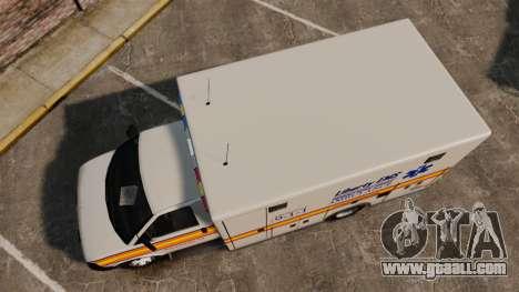 Brute Speedo LEMS Ambulance [ELS] for GTA 4 right view