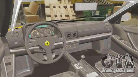 Ferrari Testarossa 512 TR v2.0 for GTA 4 back view