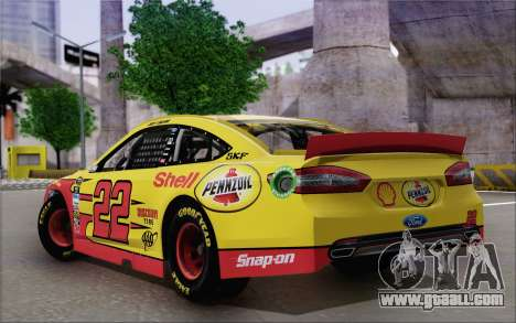 Ford Fusion NASCAR Sprint Cup 2013 for GTA San Andreas left view