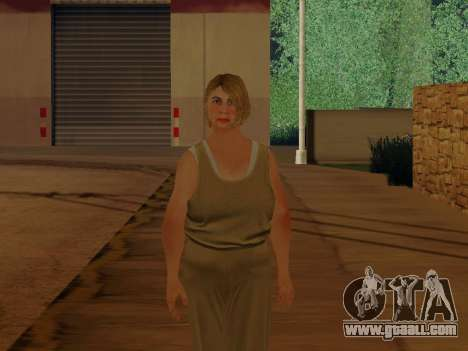 Elderly woman for GTA San Andreas second screenshot