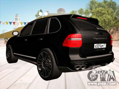 Porsche Cayenne Turbo S 2010 Stock for GTA San Andreas inner view
