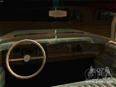Cadillac Stella 1959 for GTA San Andreas back view
