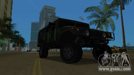 Hummer H1 Wagon for GTA Vice City left view