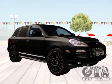 Porsche Cayenne Turbo S 2010 Stock for GTA San Andreas left view