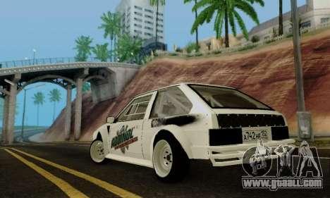 VAZ 2108 RDA for GTA San Andreas back left view