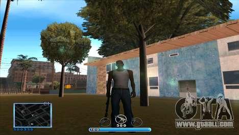 C-HUD by Andr1k for GTA San Andreas