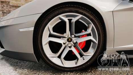 Lamborghini Aventador LP700-4 2012 [EPM] v1.1 for GTA 4 back view