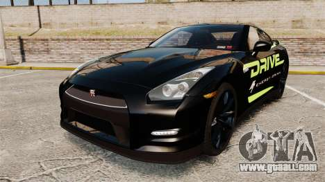 Nissan GT-R Black Edition 2012 Drive for GTA 4