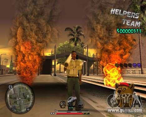 C-HUD Bear for GTA San Andreas third screenshot