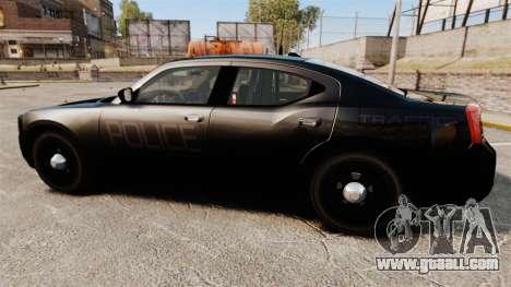 Dodge Charger Slicktop Police [ELS] for GTA 4 left view