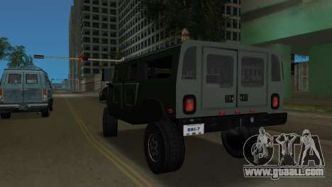 Hummer H1 Wagon for GTA Vice City back left view