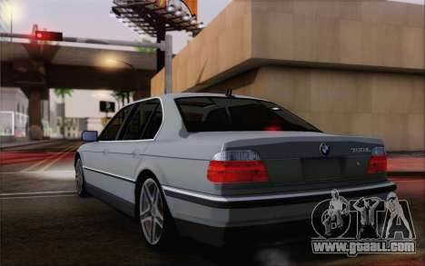 BMW 730d for GTA San Andreas left view