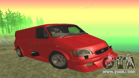 Ford Transit Supervan 3 Custom for GTA San Andreas