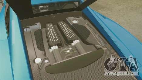 Lamborghini Gallardo Gendarmerie National [ELS] for GTA 4 inner view
