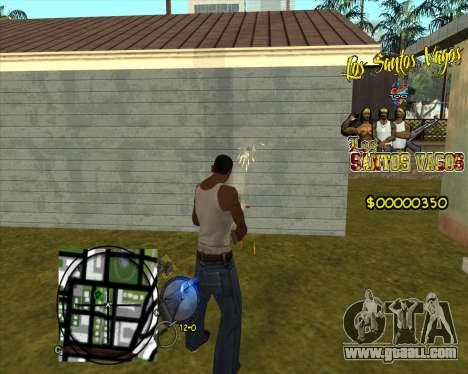 C-HUD LSVG for GTA San Andreas