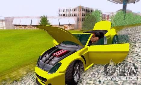 GTA V Rapid GT Cabrio for GTA San Andreas wheels