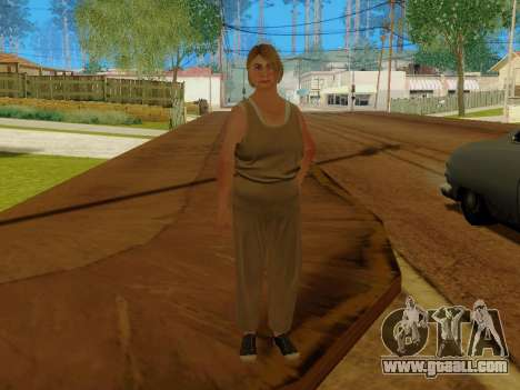 Elderly woman for GTA San Andreas
