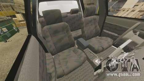 Toyota Hilux Police Western Australia for GTA 4 inner view
