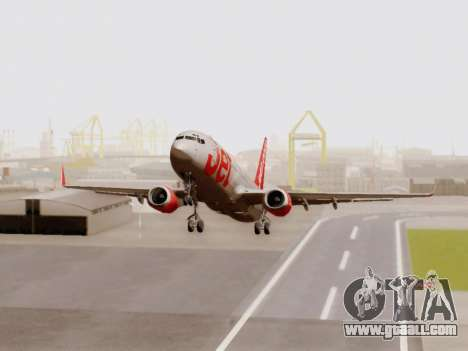 Boeing 737-800 Jet2 for GTA San Andreas left view