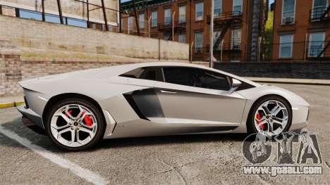 Lamborghini Aventador LP700-4 2012 [EPM] v1.1 for GTA 4 left view