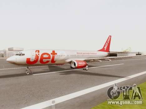 Boeing 737-800 Jet2 for GTA San Andreas