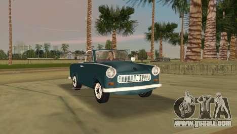 Trabant 601 Custom for GTA Vice City left view