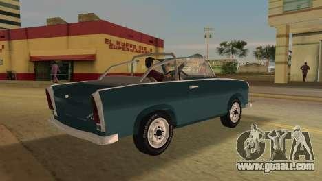 Trabant 601 Custom for GTA Vice City right view