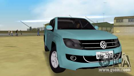 Volkswagen Amarok 2.0 TDi AWD Trendline 2012 for GTA Vice City right view