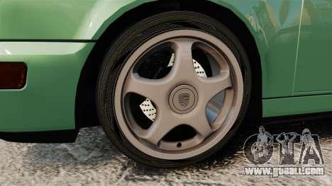 Porsche 911 Speedster for GTA 4 back view