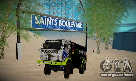 Track for off-road for GTA San Andreas
