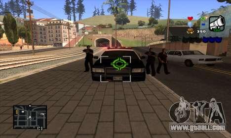 C-HUD Lite for GTA San Andreas fifth screenshot