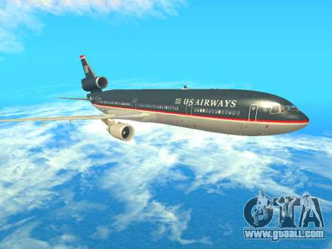 McDonnell Douglas MD-11 US Airways for GTA San Andreas