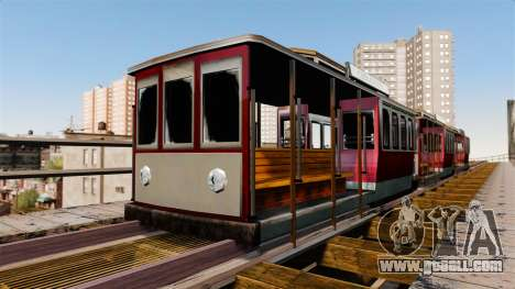 Tram from San Andreas for GTA 4