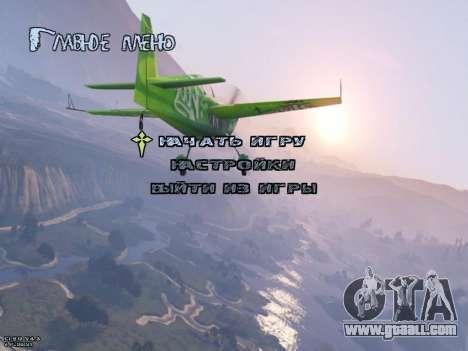 New Menu GTA 5 for GTA San Andreas