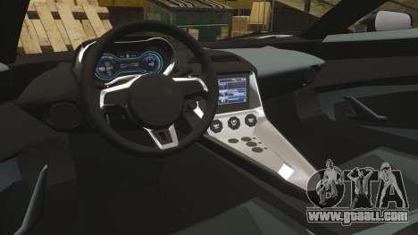 Jaguar C-X75 [EPM] Carbon Series for GTA 4 side view