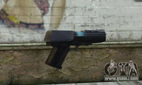 The gun from Star Wars for GTA San Andreas second screenshot