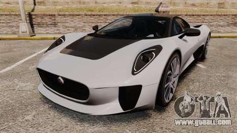 Jaguar C-X75 [EPM] Carbon Series for GTA 4