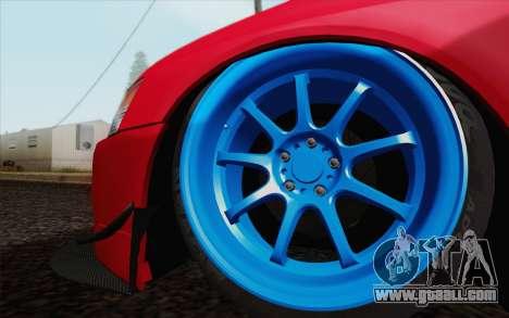 Mitsubishi Lancer MR Edition for GTA San Andreas right view