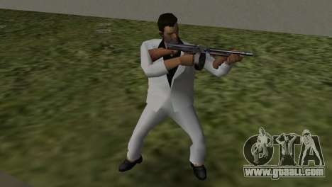 White Suit for GTA Vice City third screenshot