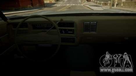 Chevrolet El Camino 1973 Old for GTA 4 interior