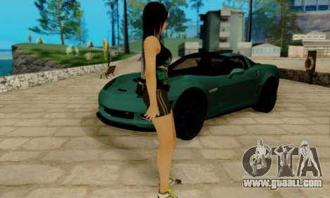 Kokoro A7X for GTA San Andreas third screenshot