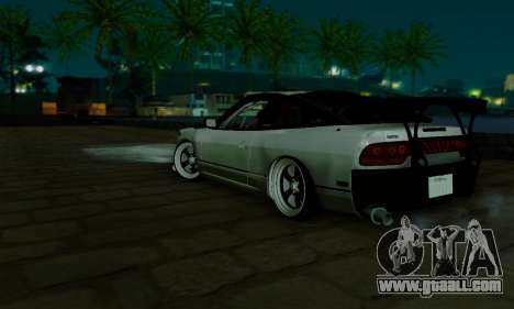 Nissan SX 240 for GTA San Andreas back view