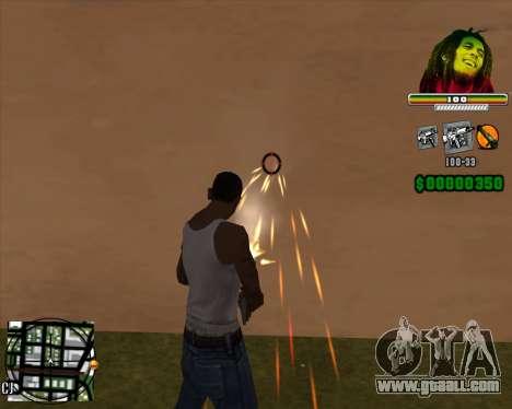 C-HUD Bob Marley for GTA San Andreas second screenshot
