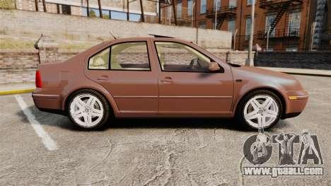Volkswagen Bora 1.8T Camel for GTA 4 left view