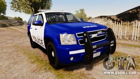 Chevrolet Tahoe 2008 LCPD [ELS] for GTA 4