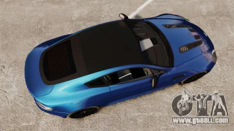 Aston Martin V12 Vantage S 2013 for GTA 4 right view
