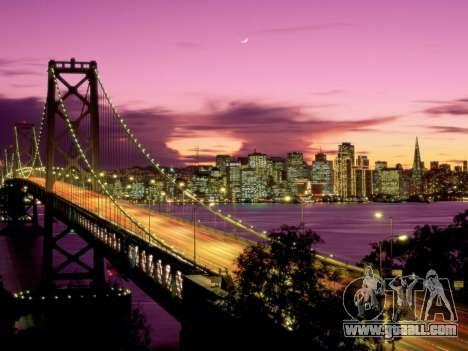 Loading screens, San Francisco for GTA 4 seventh screenshot
