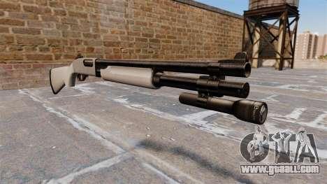 Riot shotgun Remington 870 Wingmaster for GTA 4