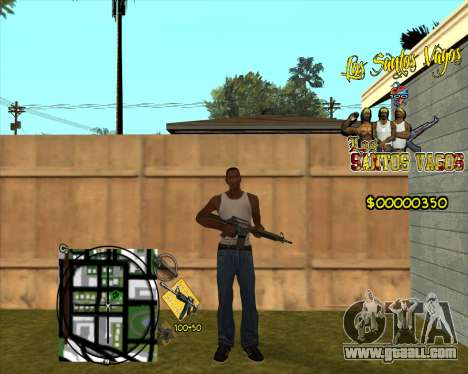 C-HUD LSVG for GTA San Andreas second screenshot